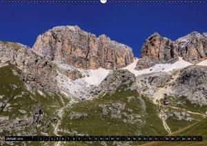Sellagruppe - Traumhafte Ausblicke in den Dolomiten (Wandkalende