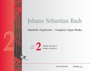 Sämtliche Orgelwerke Band 2 mit CD-ROM