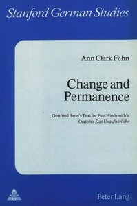 Change and Permanence