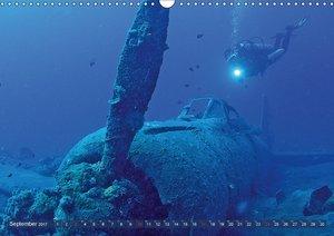 Tauchen: Wunderbares tiefblaues Meer