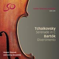 Serenade for Strings in C/Divertimento - zum Schließen ins Bild klicken