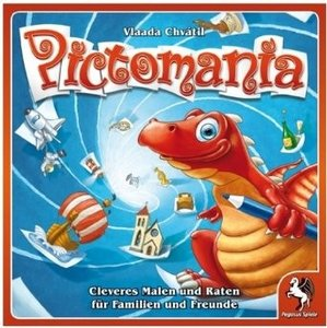 Pegasus Spiele 54305G - Pictomania *Spiel des Jahres Empfehlung