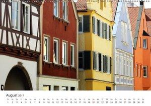 Stadtbummel im schönen Nördlingen (Wandkalender 2017 DIN A2 quer