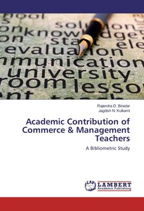 Academic Contribution of Commerce & Management Teachers