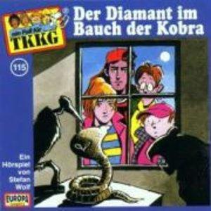 115/Der Diamant im Bauch der Kobra