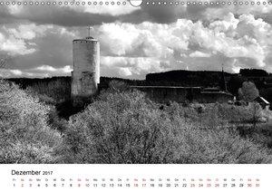 Burgen in schwarzweiß - Wie aus alten Zeiten