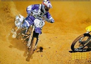 Akrobatik auf zwei Rädern: Motocross (Wandkalender 2016 DIN A2 q