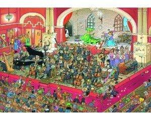 Jumbo Spiele 17222 - Jan van Haasteren: Die Oper, 2000 Teile Puz