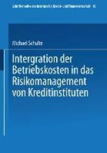 Integration der Betriebskosten in das Risikomanagement von Kredi