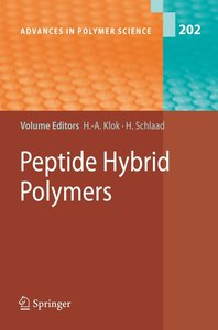 Peptide Hybrid Polymers