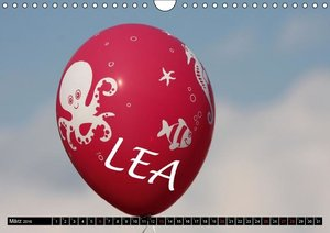 Nur für LEA (Wandkalender 2016 DIN A4 quer)