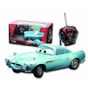 Dickie 203089503 - Cars 2: RC Finn McMissile, 2-Kanal Funkfernst
