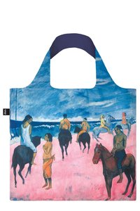 PAUL GAUGUIN. Horseman on the Beach. Tote Bag