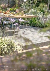 RHS Hampton Court Gardens (Wall Calendar 2016 DIN A3 Portrait)