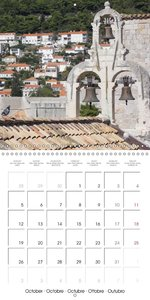 DUBROVNIK DAYDREAMS SET IN STONE (Wall Calendar 2015 300 × 300 m