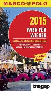 MARCO POLO Cityguide Wien für Wiener 2015
