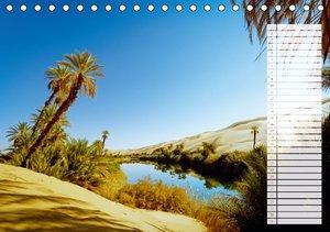 Nordafrika: Die Wüste lebt (Tischkalender 2016 DIN A5 quer)