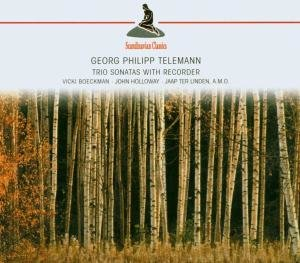 Trio Sonatas With Recorder(Telemann,Georg Philipp)