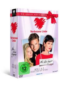 """Verbotene Liebe - Die große Geschenkbox - Box 1 + 2 """"Wie alles b"""