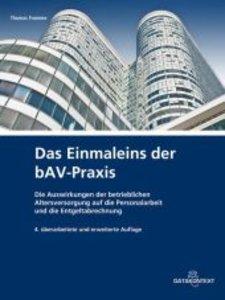 Das Einmaleins der bAV-Praxis