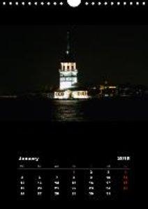 Istanbul - Bosphorus / UK-Version (Wall Calendar 2015 DIN A4 Por