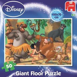 Disney 19332 - Jungle Book Großes Bodenpuzzle 50 Teile