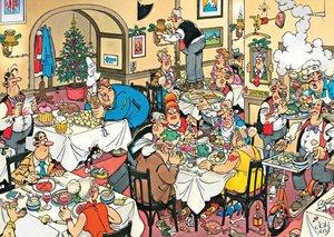 Jan van Haasteren - Chaotisches Adventsessen - 150 Teile