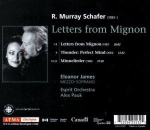 Schafer: Letters from Mignon