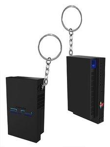 PlayStation 2 Konsole - Schlüsselanhänger (Offiziell lizensiert)