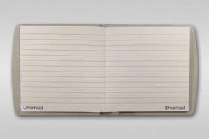 SEGA Dreamcast - Notizbuch, Hardcover, 96 Seiten (Offiziell lize