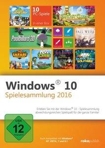 Windows 10 Spielesammlung 2016. Für Windows Vista/7/8/8.1/10