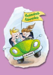Der Rechtschreib-Führerschein - 4. Klasse - Klassensatz farbiger