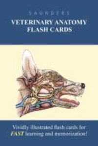Saunders Veterinary Anatomy Flash Cards