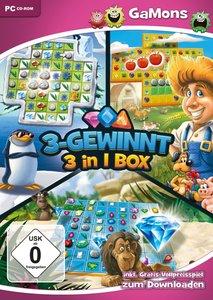 GaMons - 3-Gewinnt 3in1-Box