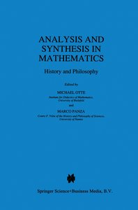 Analysis and Synthesis in Mathematics