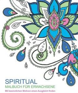 Malbuch für Erwachsene: Spiritual