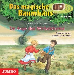 Das magische Baumhaus 20. Im Auge des Wirbelsturms. CD