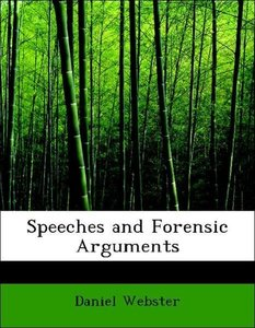Speeches and Forensic Arguments