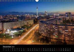 Die Blaue Stunde in Berlin (Wandkalender 2016 DIN A3 quer)