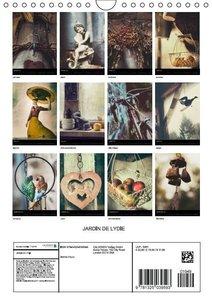 Le jardin de Lydie (Calendrier mural 2015 DIN A4 vertical)