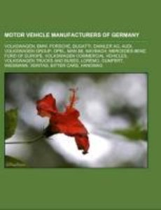Motor vehicle manufacturers of Germany