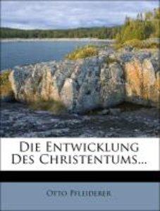 Die Entwicklung Des Christentums...