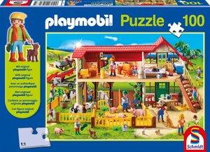 Playmobil (inkl. Figur), Bauernhof, 100 Teile