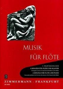 6 Sonaten für Flöte und Klavier. 6 Sonatas for Flute and Piano