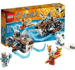 LEGO 70220 - Legends of Chima: Strainors Säbelzahnmotorrad