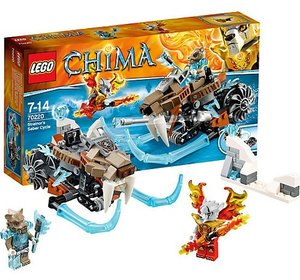 LEGO 70220 - Legends of Chima: Strainors Säbelzahnmotorrad