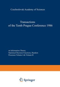 Transactions of the Tenth Prague Conference on Information Theor