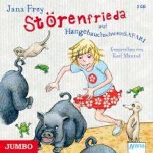 Störenfrieda Auf Hängebauchschweinsafari