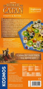 Die Siedler von Catan. Städte und Ritter. Erweiterung für 5 und