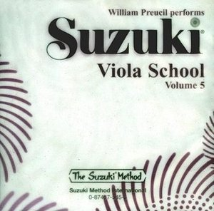 Suzuki Viola School CD 5